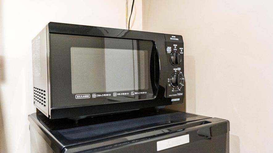 ・キッチン備品 電子レンジ【ビセテラススイート50平米】