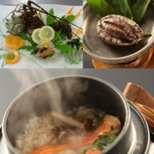海鮮と釜飯