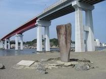 白秋碑と大橋