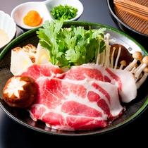 ◆ワイン豚しゃぶしゃぶ