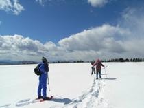 冬の晴れ間 霧ヶ峰までスノーシュー