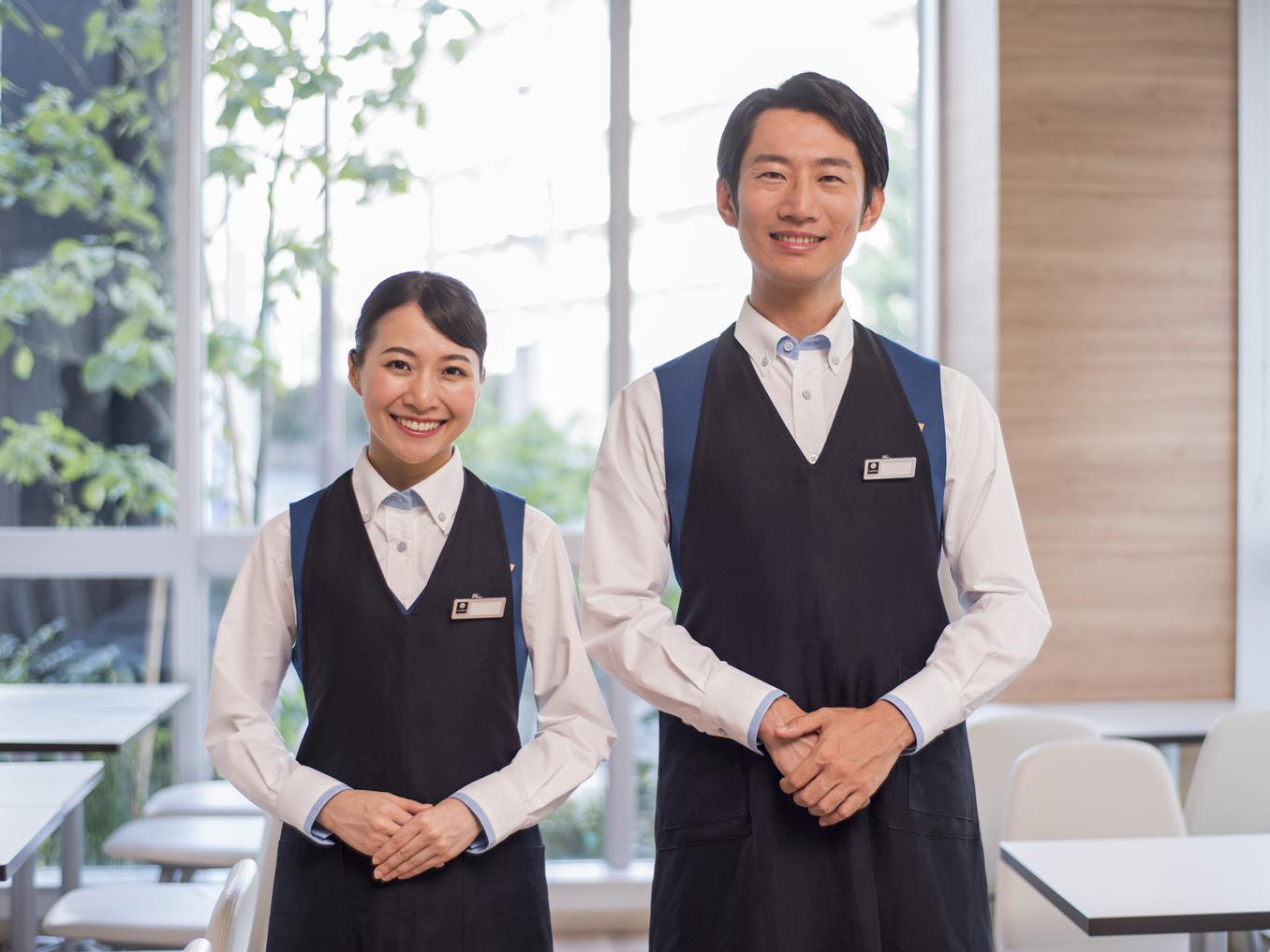 【朝食サービス】さわやかな笑顔でお迎えします♪