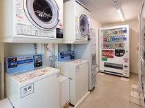 ◆ランドリーコーナーに自販機・製氷機をご用意しております◆
