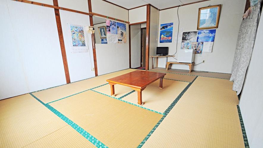 【和室】10畳、グループやファミリーでの宿泊にぴったり