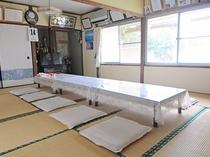 【小宴会場】畳の上でゆっくりお食事をどうぞ!