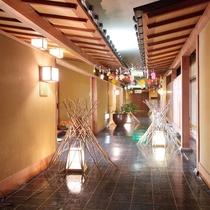 満月通り(個室廊下)