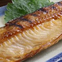 *朝食一例/縞ホッケの焼き魚…北海道=縞ホッケ!ほっくほく★