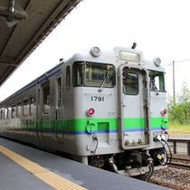 *JR北海道のディーゼル車両で最寄りの当麻駅までガタゴトン♪