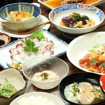 *夕食一例/優れた品質の農産物が多い当麻町。地元の食材をたっぷり召し上がれ♪