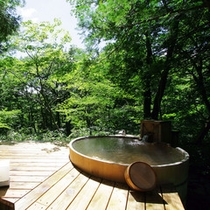 林空露天風呂付き離れ「青い月」