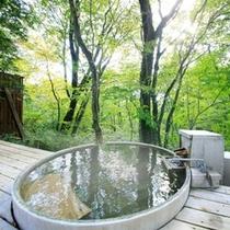 林空露天風呂付き離れ「おぼろ月」