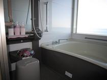 客室内 海眺望風呂