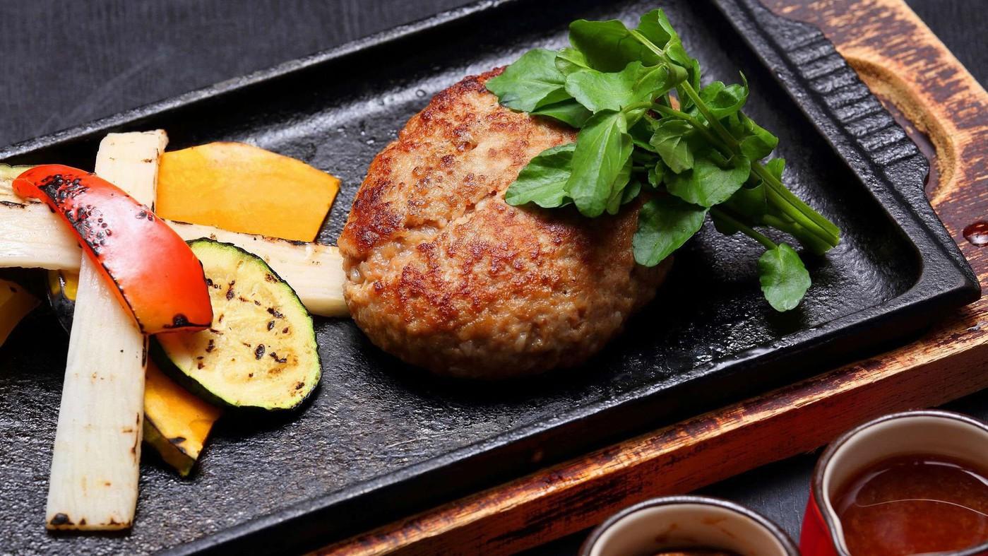 牛たんハンバーグステーキ