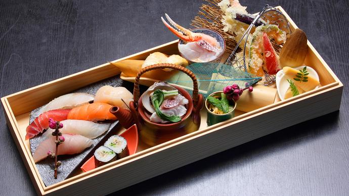 白木箱 寿司会席ご膳