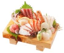 鮮魚三昧盛り
