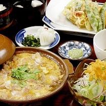 *【夕食例】心をこめた、手造りのお食事です。