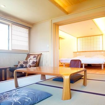 【早蕨】(別館3階・和洋室・トイレ付・39平米)