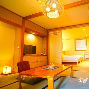 【飯綱】(本館3階・和洋室・トイレ付・43平米)