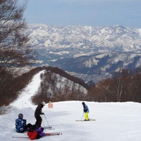 野沢温泉スキー場 スカイラインコース