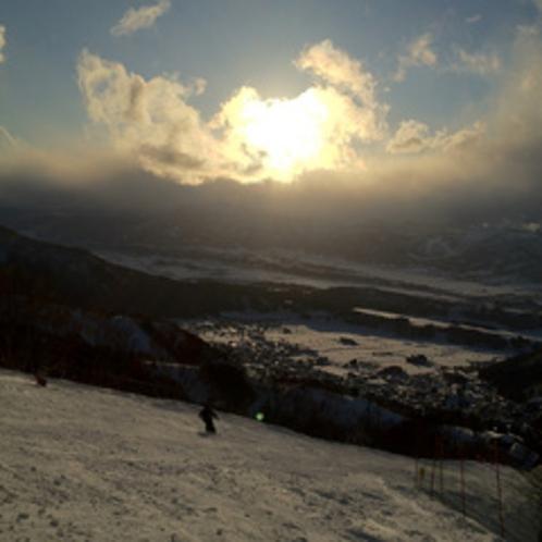 野沢温泉スキー場 シュナイダーコース