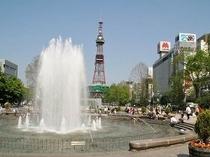 札幌の癒しスポット『大通公園(夏)』:徒歩7分