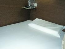 デラックスカプセル限定寝具:「極上の睡眠を・・・」