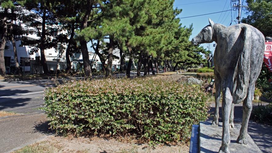 旧東海道 知立松並木