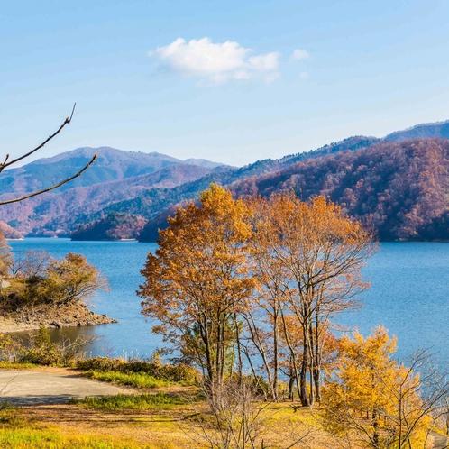 ■九頭竜湖(紅葉)<イメージ>