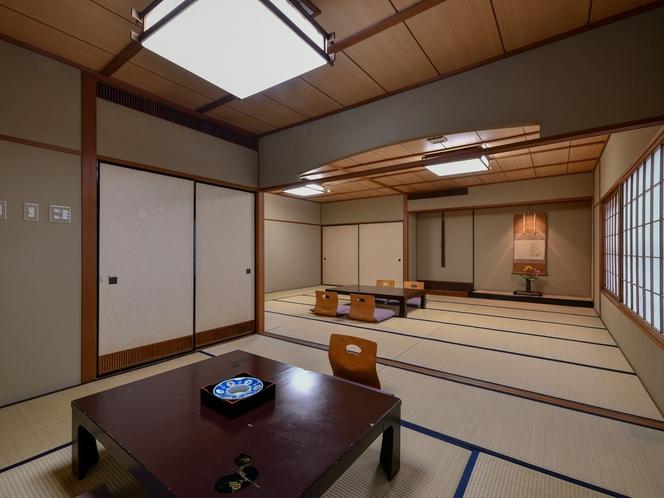 【豊楽】家族や仲間で広々と使える和室17.5畳+8畳