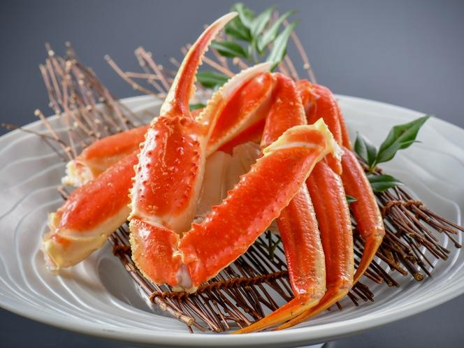 【茹で蟹】北陸と言えば、何と言っても〝ずわい蟹〟ですよね。ボイルでお楽しみください♪