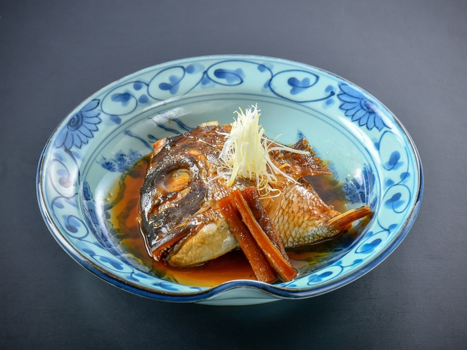 【鯛のあら煮】鯛を美味しさを閉じ込めて煮る技が必要になるあら煮でどうぞ♪