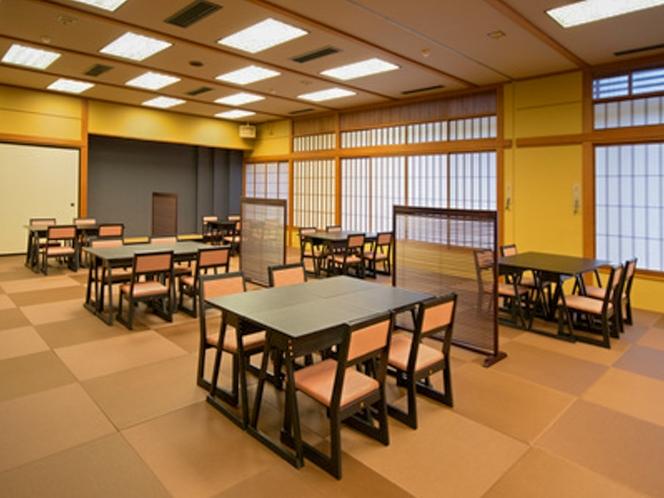 【福瓢】落ち着いた空間のお食事処(椅子、テーブル席)