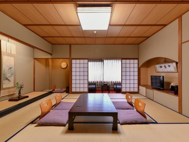 【豊楽】四季の移ろいを感じる寛ぎの和室13.5畳