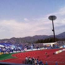 ■NDソフトスタジアム山形(ゴール裏)