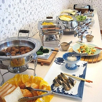 ■ご朝食≪和洋食バイキング≫(7:00~9:00)