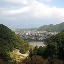 ■舞鶴山から眺める天童市街