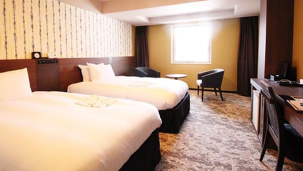 ◇禁煙スタンダードツイン ・27.7平米 ベッド巾110cm