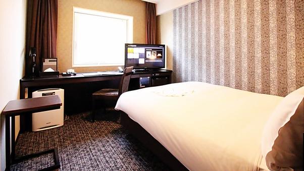 ◆喫煙 シングルルーム ・17.1平米 ベッド巾140cm