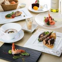 ◆特別料理【コンフィヤンスコース】*イメージ ご利用日3日前までの予約制