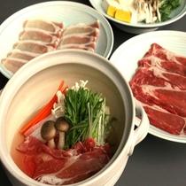 ◆しゃぶしゃぶ食べ放題 豚肉・牛肉が80分間食べ放題♪ *イメージ