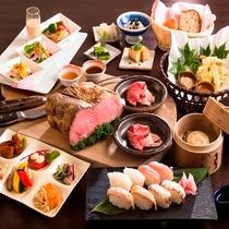 ◆和洋中40種類の夕食バイキング *イメージ