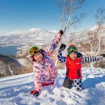 ◆真っ白な雪景色☆天然雪100%のふわふわスノーリゾート