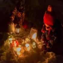 ◆雪上夜の探偵団 インストラクターと夜のタングラムを探検しよう♪♪