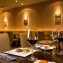 ◆コースレストラン【風車】 予約制。バイキングプランも追加料金でコース料理に変更できます♪