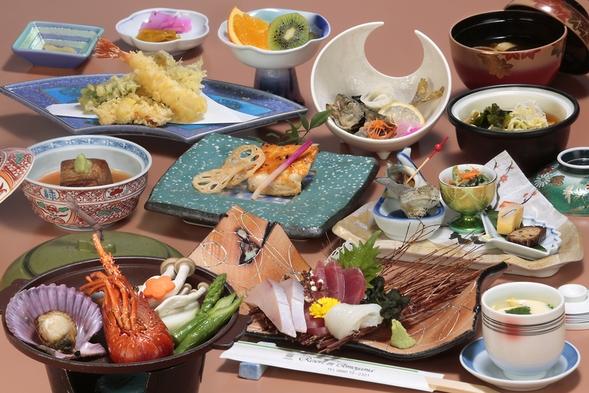 【ペット不可】本館泊☆〜夕食は海の幸いっぱいの和食会席で〜