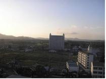 夕方北側からの景色