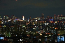 客室からの夜景①