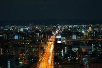客室からの夜景②
