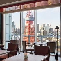 32階東京タワーを望むクラブラウンジ