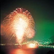湯河原温泉の夏を彩る 『 海上花火大会 』 毎年8/3 開催です♪